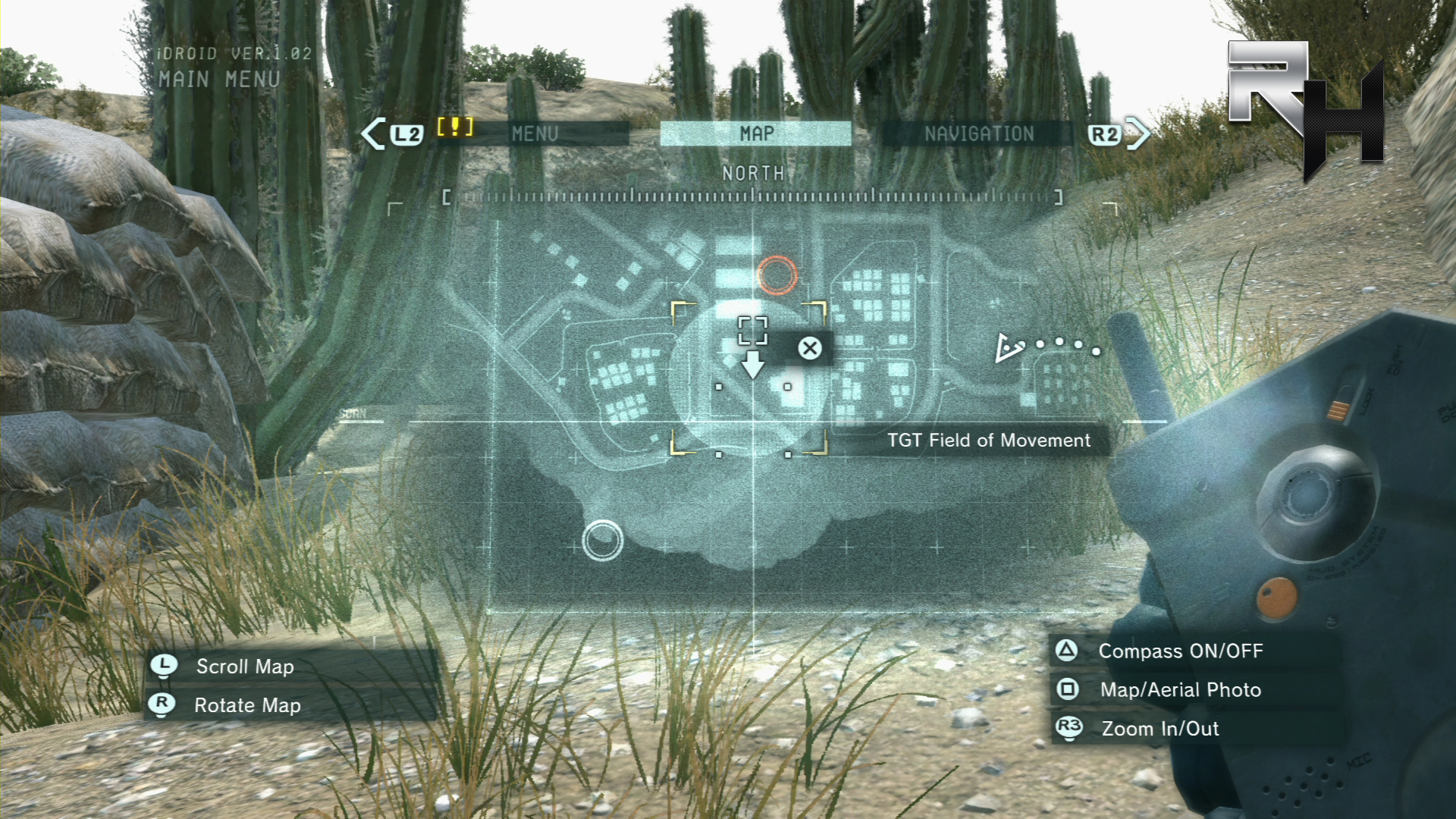 Some missions can take place during the day - and lighting matters a lot in Ground Zeroes. You'll be much easier to spot!