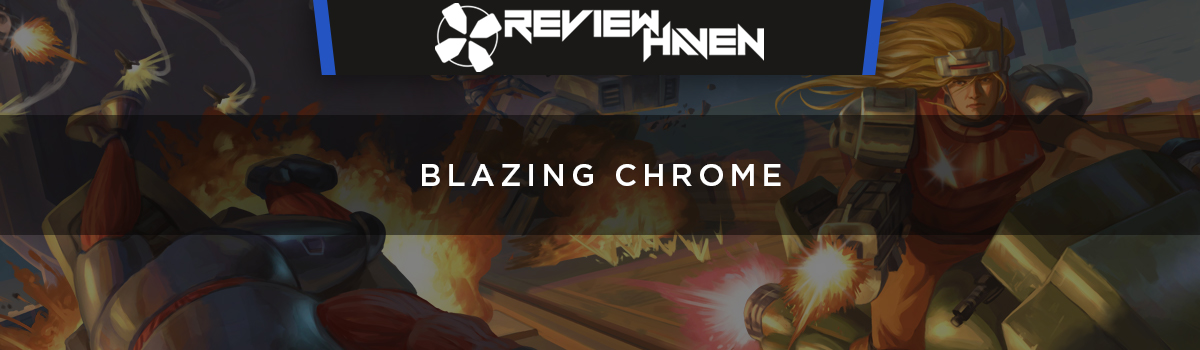Blazing Chrome header image