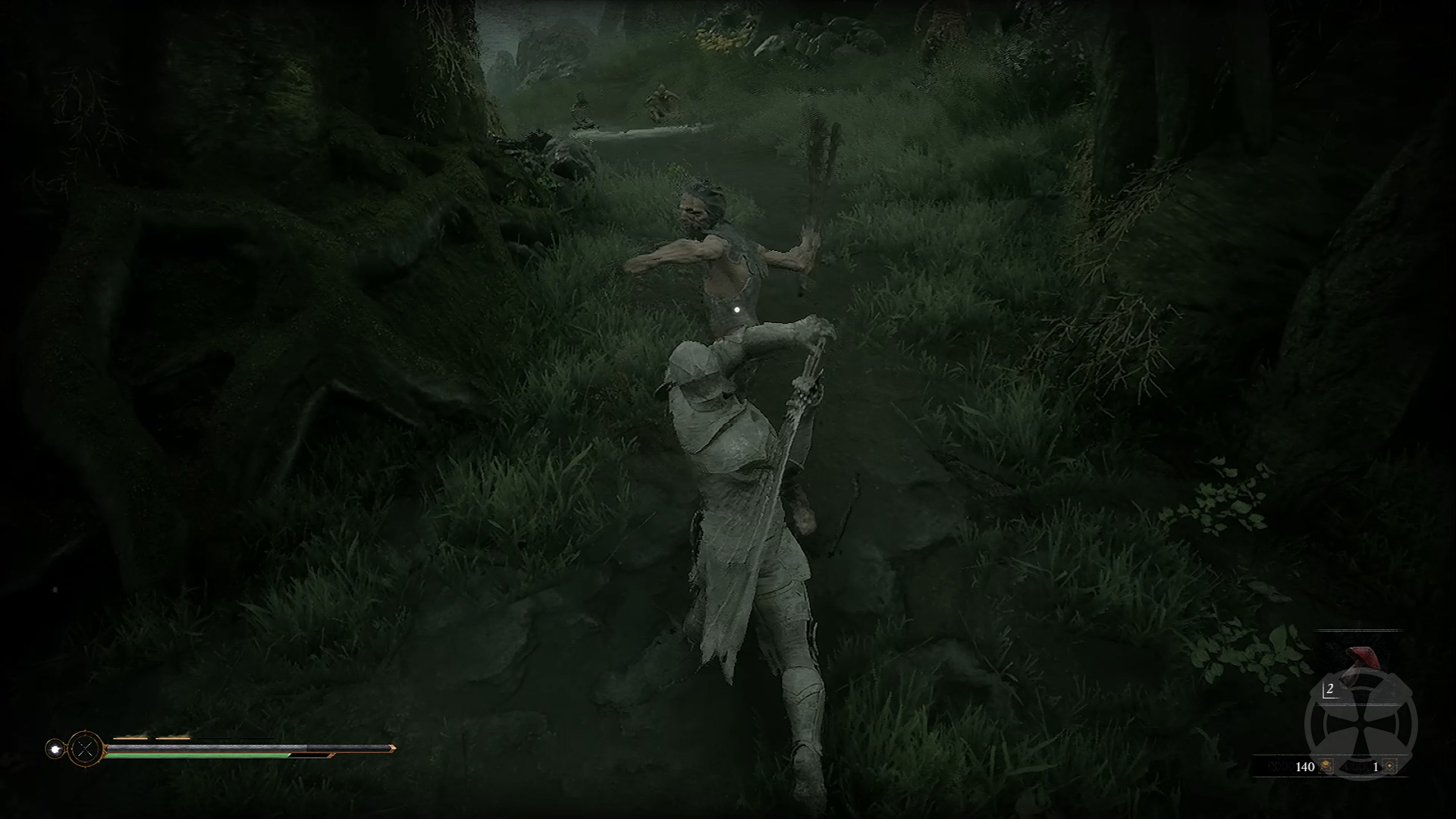 Screenshot of Hardening in Mortal Shell.