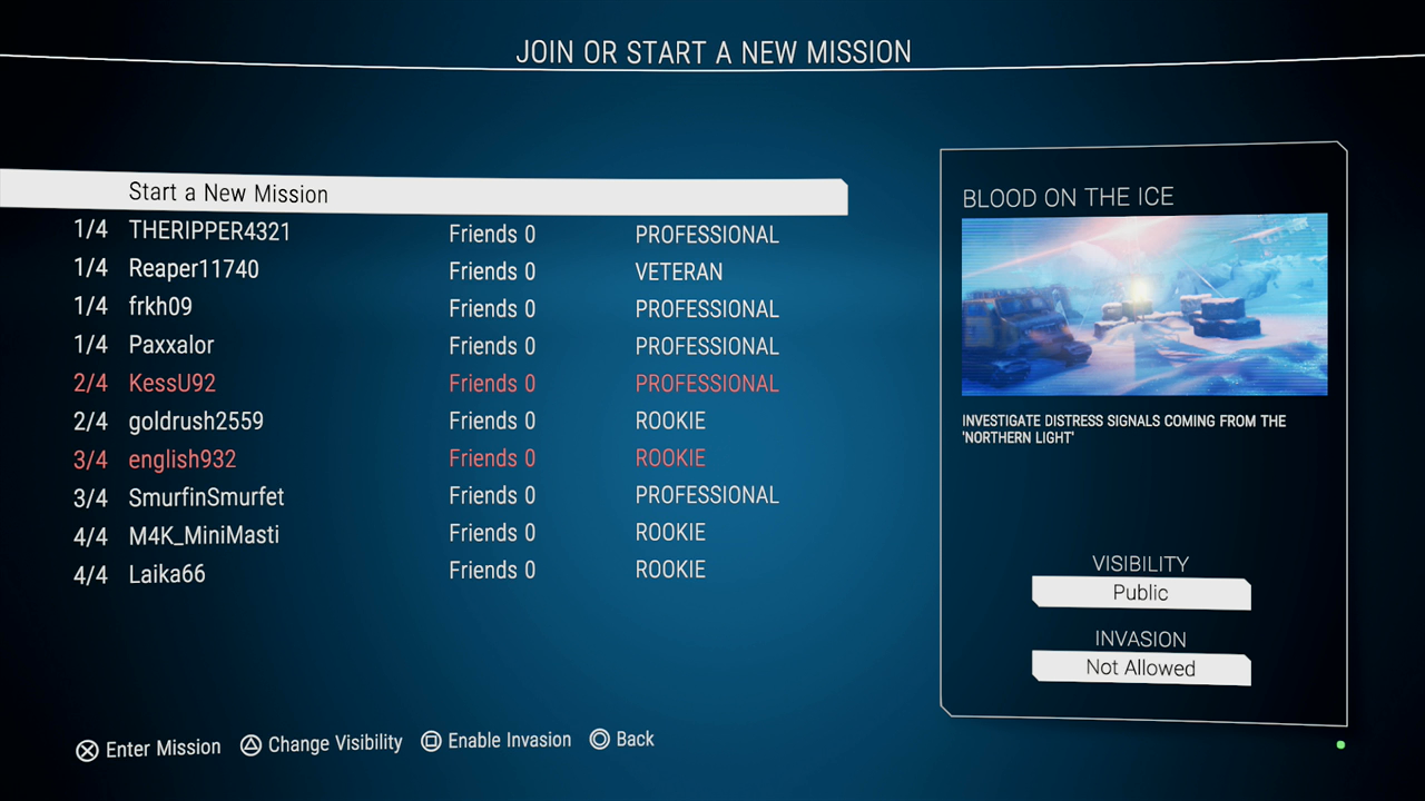 Multiplayer works well. Join a game in progress, or have someone join you, with no interruptions.